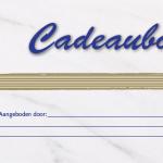 Arenborghoeve Cadeaubon