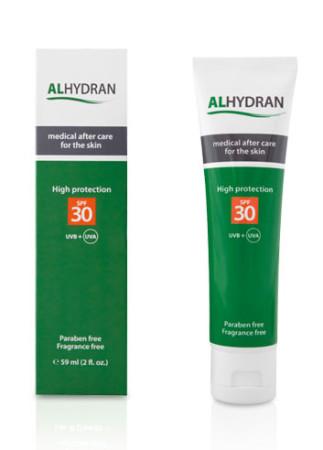Alhydran littekencreme met SPF 30