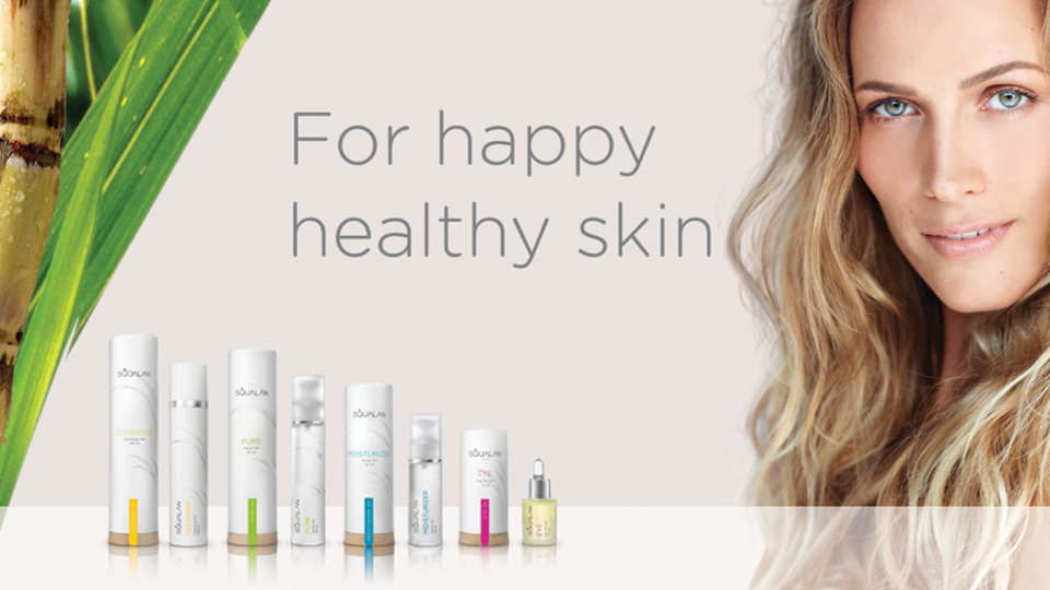 Squalan for happy healhty skin