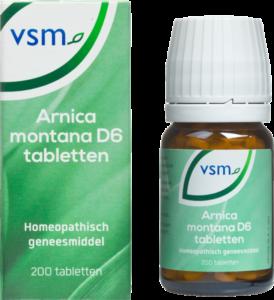 VSM Arnica montana d6 tabletten