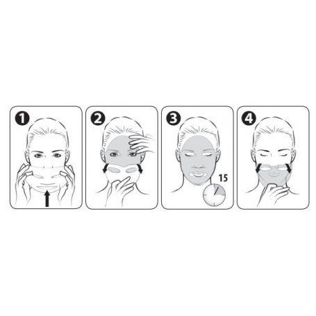 gezicht masker instructies